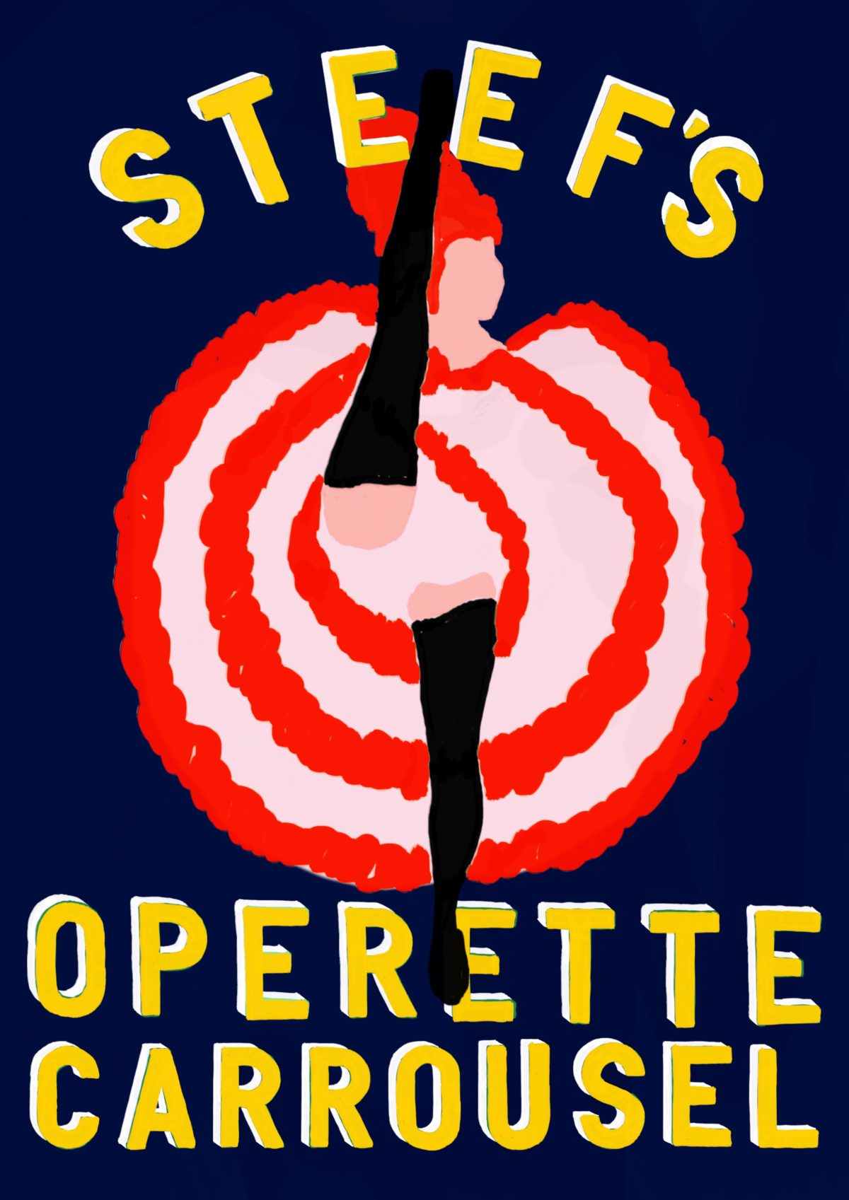 Steef's Operette Carrousel op de Parade!